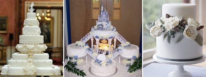 Топ-12 цветов для свадебного торта