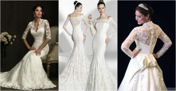 Синее свадебное платье (фото моделей)