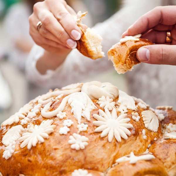 Каравай на свадьбу – рецепт с фото традиционной выпечки.