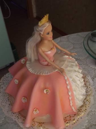 Свадебный торт без мастики (фото)