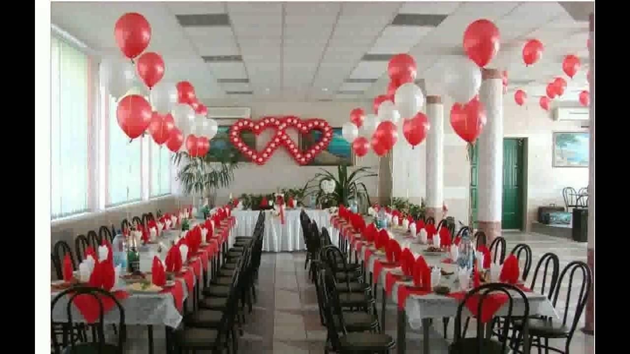 Оформление зала на свадьбу своими руками фото варианты и идеи