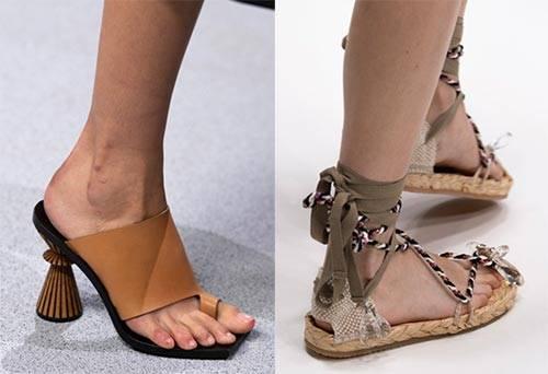 Лучшие новинки обуви на лето 2020-2021: последние тренды и тенденции — фото