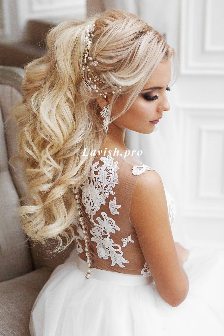 Свадебные прически на длинные волосы — классические и авангардные