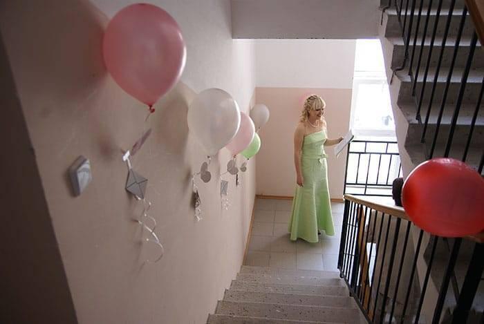 Как украсить комнату невесты перед свадьбой. фото обзор