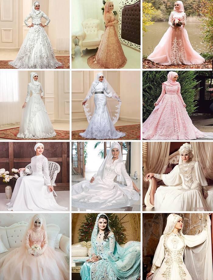 Мусульманские свадебные платья: выбор платья для невесты мусульманки в исламе