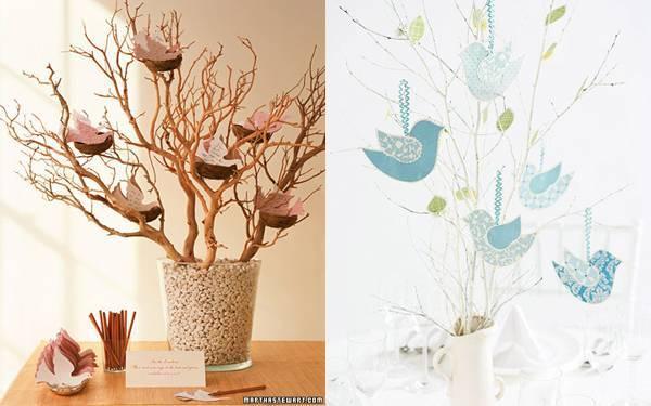 Дерево пожеланий на свадьбу: креативно и просто!
