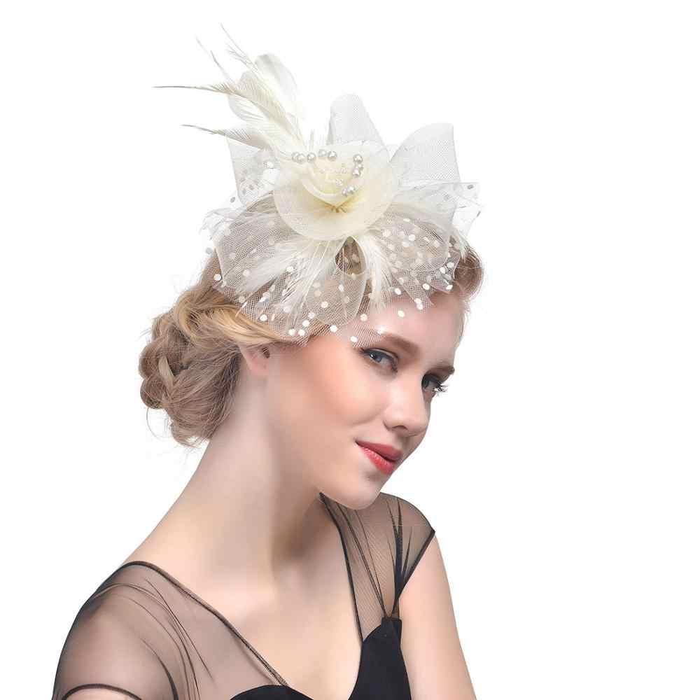 Женские штучки в образе невесты-2020: трендовые головные уборы и украшения для причёски