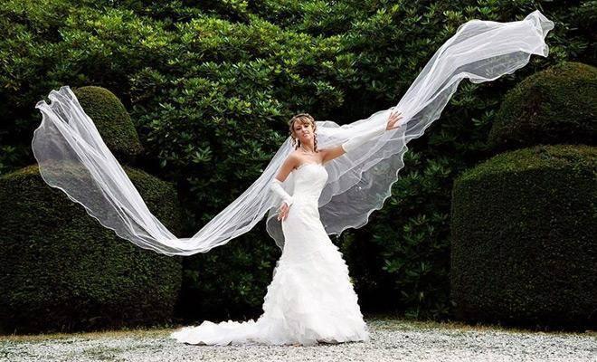 Вместо фаты: свадебные аксессуары на голову невесты