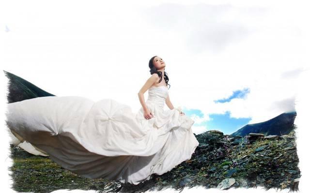 Приметы о примерке свадебного платья