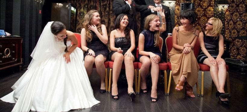 Интересные и прикольные конкурсы на свадьбу