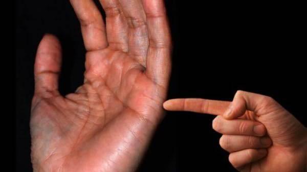Расшифровка линии брака на руке
