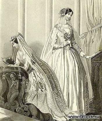 Свадебная фата и ее виды