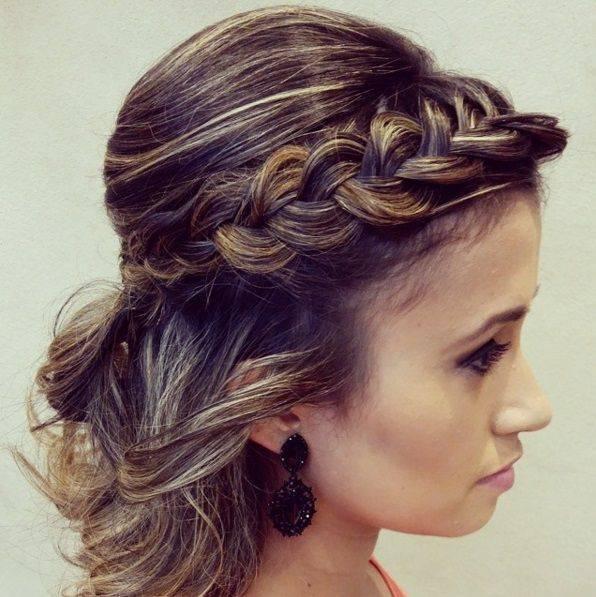 Свадебные прически с косами и фатой: фото и видео плетения кос для свадебной укладки   женский журнал читать онлайн: стильные стрижки, новинки в мире моды, советы по уходу