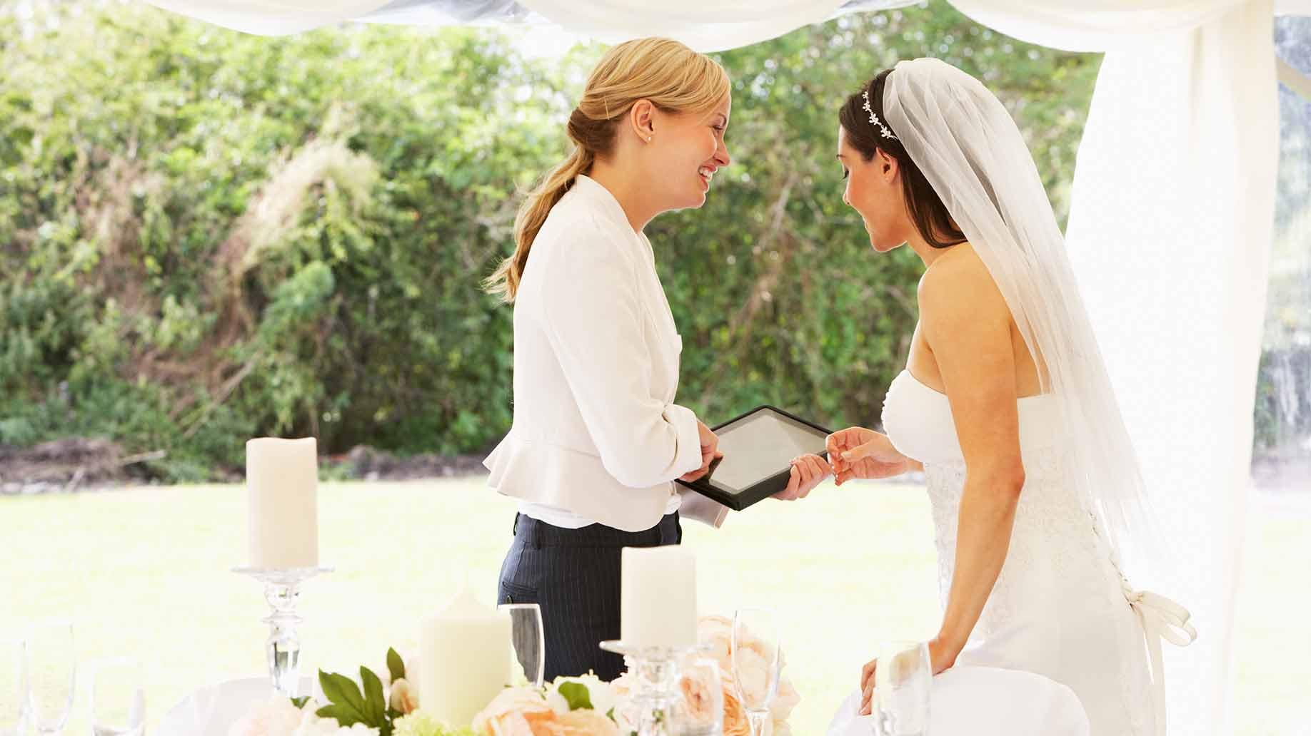Свадебный организатор.