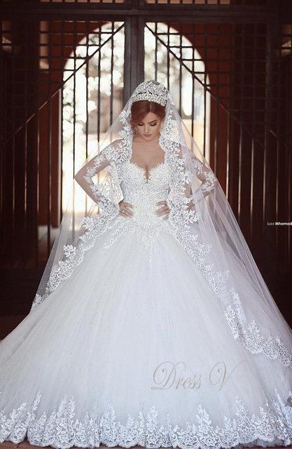 Свадебные платья в арабском стиле: фасон и дизайн