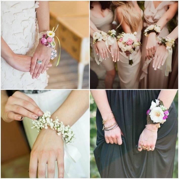 Браслеты для подружек невесты (фото)