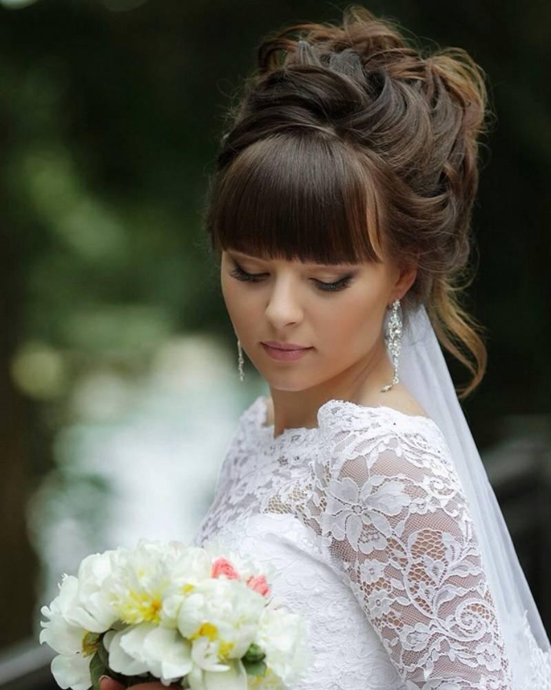 Свадебные прически на короткие волосы: 50 лучших фото
