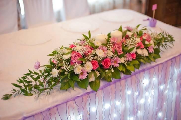 Свадебный декор — красивые, модные и трогательные фишки для молодых и гостей + 77 фото