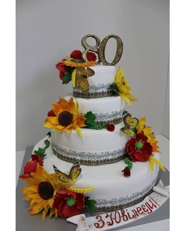 Белый свадебный торт — выбираем размеры и оформление правильно (70 фото + видео)
