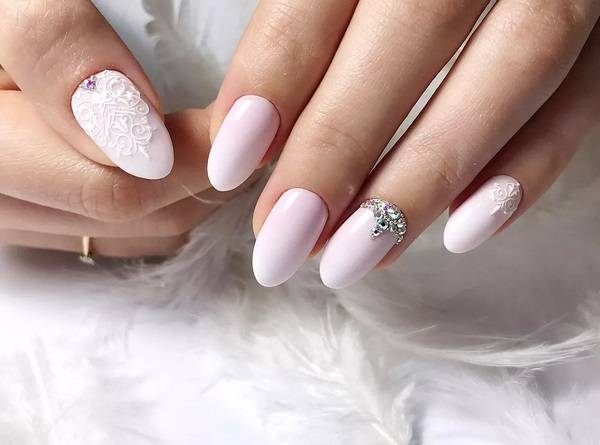 Свадебный маникюр 2020-2021 года – модный свадебный дизайн ногтей, топовые тренды и тенденции