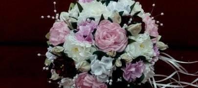 Свадебный букет невесты с лавандой – фото