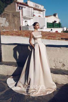 Цвета свадебных платьев — фото примеров использования основных цветов для торжества