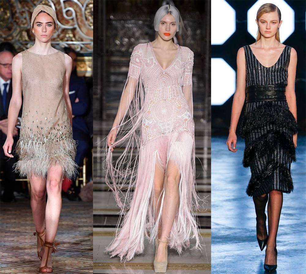 Платье в стиле чикаго | модные  платья