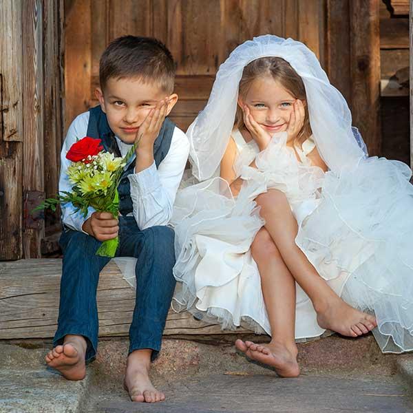 Как занять детей на свадьбе: идеи для маленьких гостей
