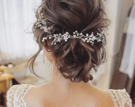 Прическа на свадьбу для мамы
