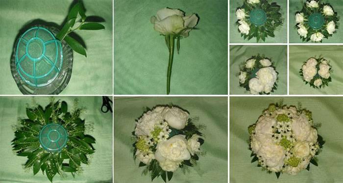 Брошь-букет на свадьбу: яркий акцент в образе невесты