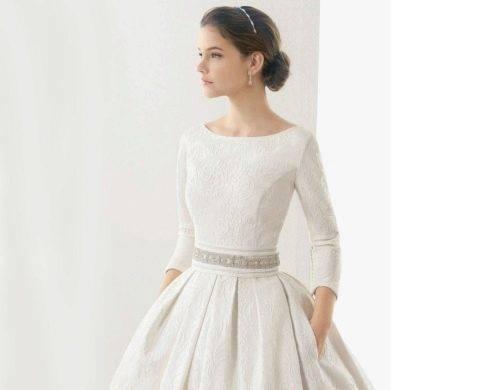 Элегантность и благородная роскошь, хит сезона – свадебные платья с длинным рукавом