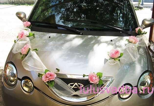 Как делать украшения для свадебной машины своими руками
