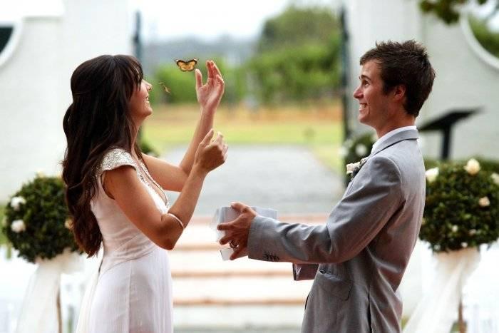 Встреча с караваем на свадьбе слова