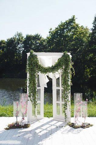 Арка из цветов на свадьбу: ароматные врата в семейную жизнь