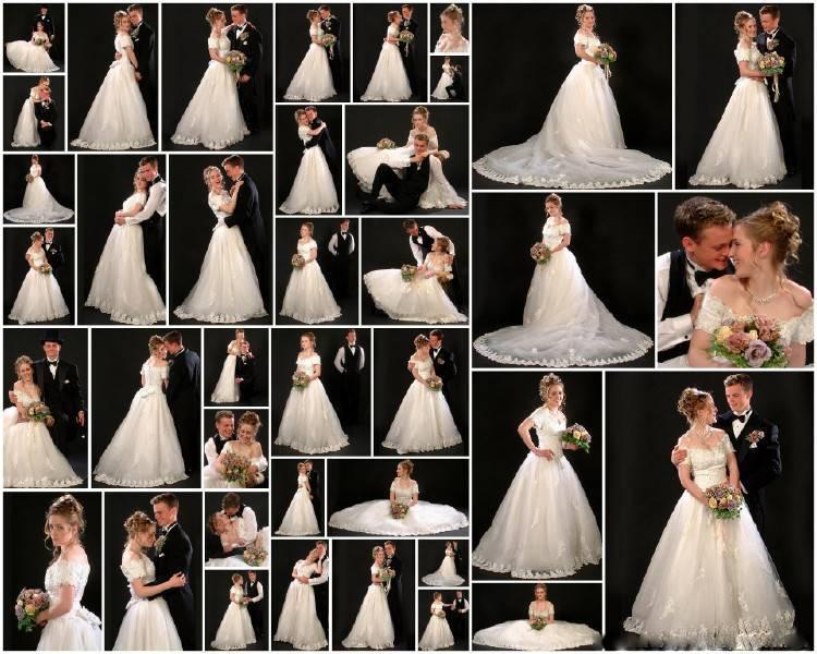 Выбираем позы для свадебных фотосессий