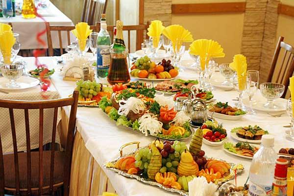 Банкетное меню на свадьбу:некоторые тонкости, которые помогут вам не переплачивать лишние деньги