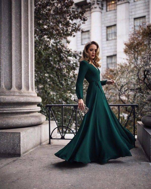 Самые стильные вязаные платья: тенденции и фото идеи