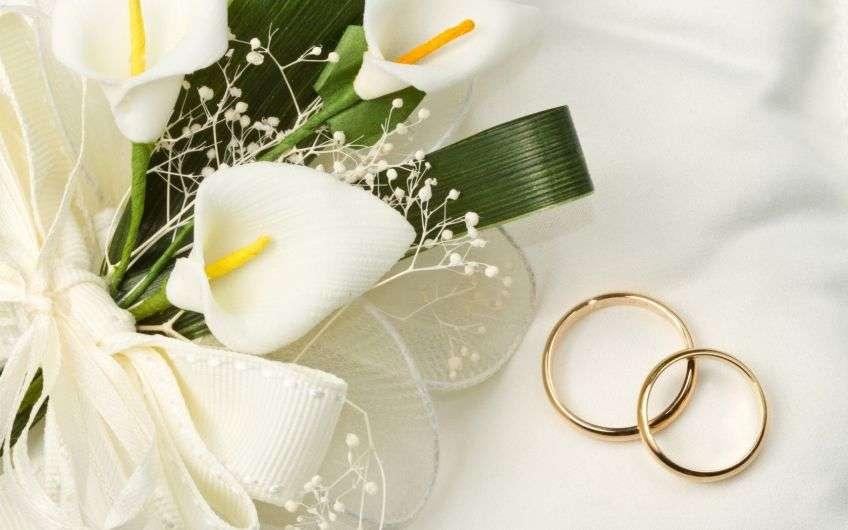 Поздравления в день свадьбы жениху и невесте