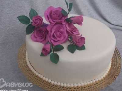 Свадебные торты из мастики, фото на свадьбу