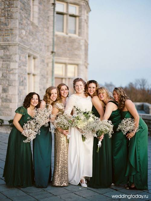 В каком цвете сделать свадьбу в 2020: модные решения