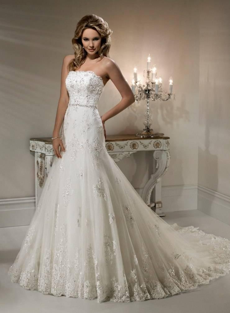 Красивые модели шикарных кружевных свадебных платьев и как выбрать лучшее