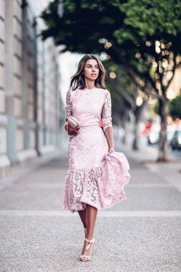 Длинные платья в пол — красиво, женственно, модно