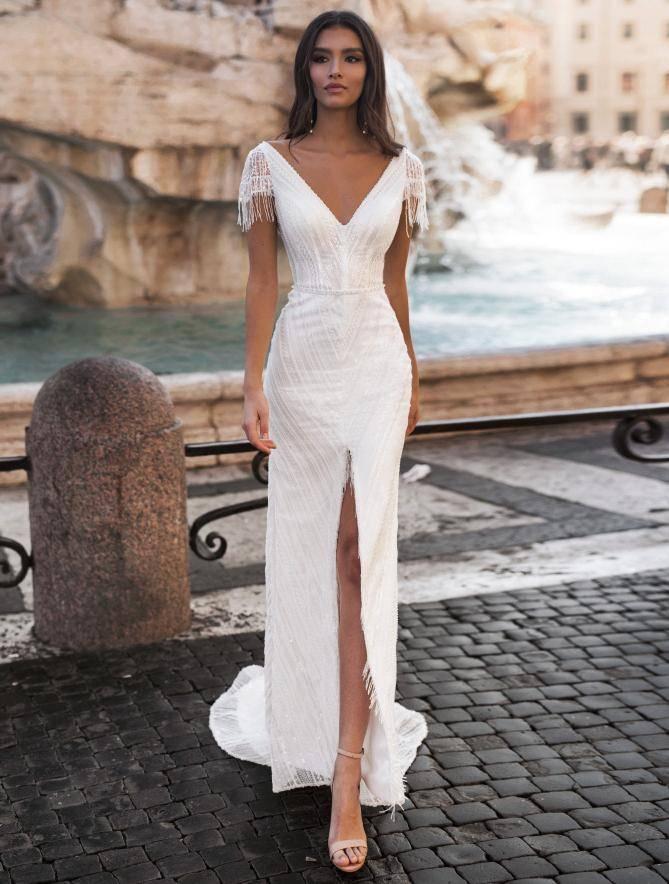Свадебное платье трансформер — тренд сезона и оригинальная новинка (105 фото)