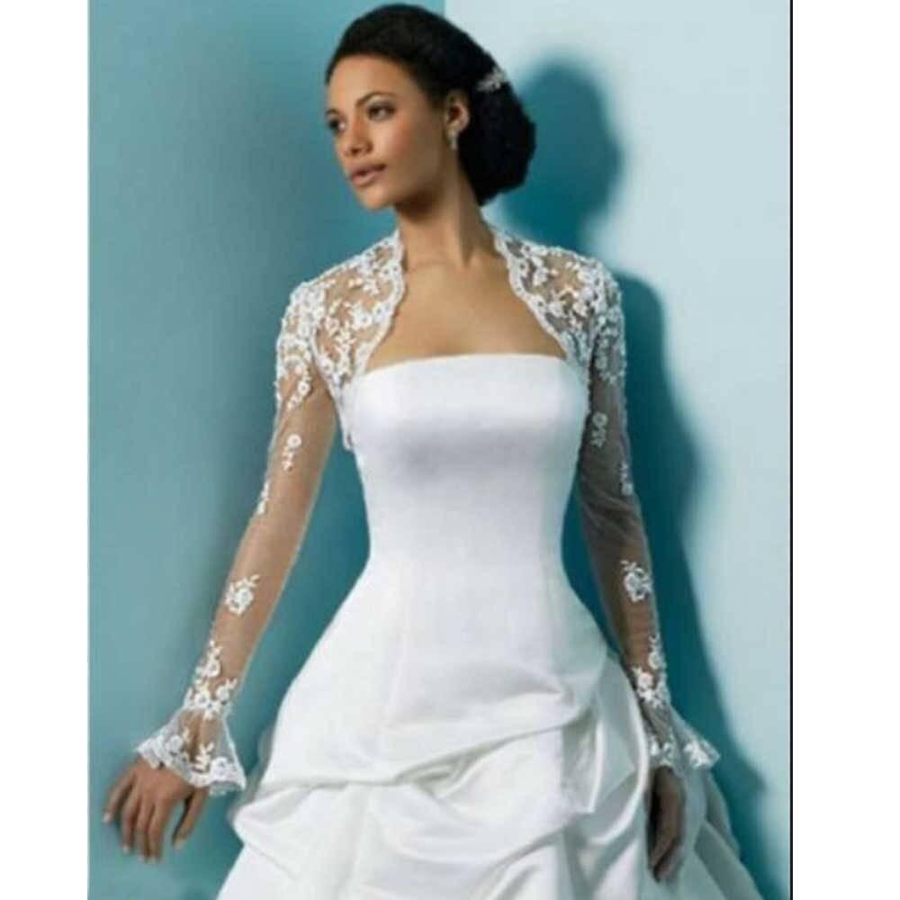 Болеро свадебное (68 фото): на платье, кружевное, с капюшоном, с длинным рукавом, меховое, для невесты, красное