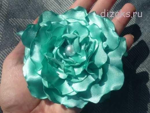 Розы из лент своими руками :: инфониак