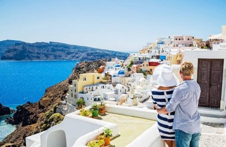 Греция: свадебный тур в страну богов