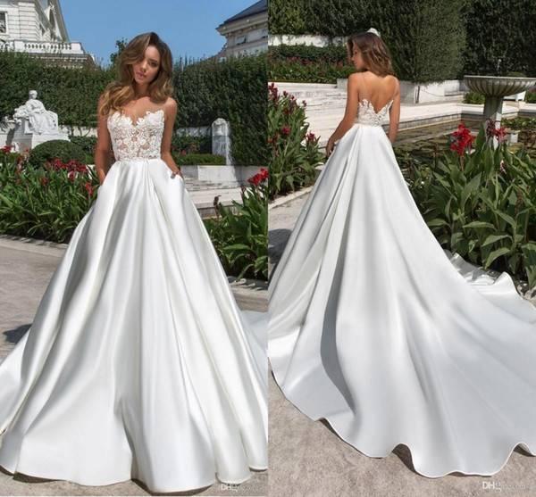 Красивые свадебные платья 2019-2020. лучшие фото новинки свадебных платьев
