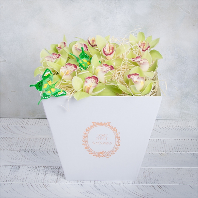 Свадебный букет невесты из альстромерий