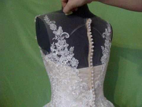 Как отстирать свадебное платье в домашних условиях