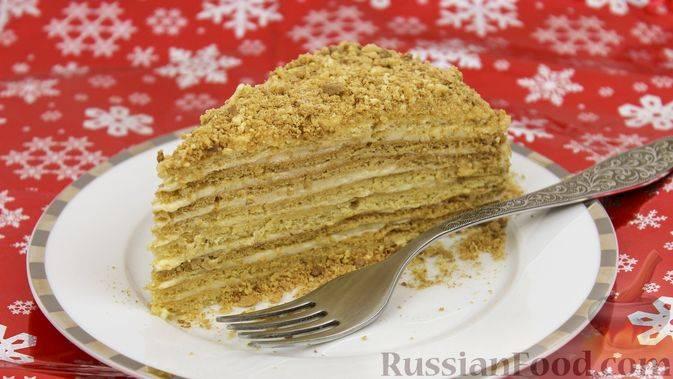 Как приготовить шоколадно-медовый торт с орехами